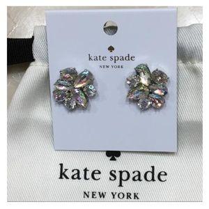 ♠️ Kate Spade Patina Cluster Earrings NWT